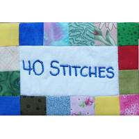 40 Stitches Logo