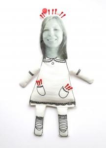 Mini-Me-Puppe machen mit Kate von Cut & Tear.