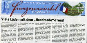 Handmade Trend in der Hallo