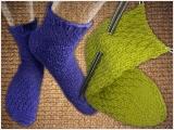 Socken stricken für Anfänger mit Cornelia Messner.