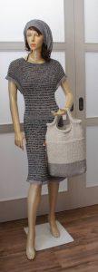 handgestricktes Kleid