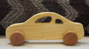 Holzspielzeug Auto von DaniWood