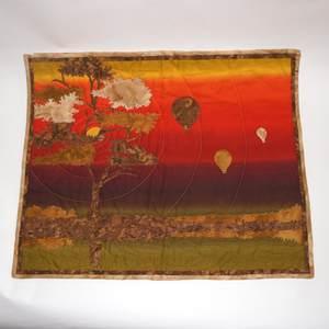 Textilbild - African Sunset