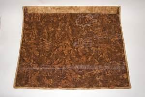 Textilbild - African Sunset - Rückseite