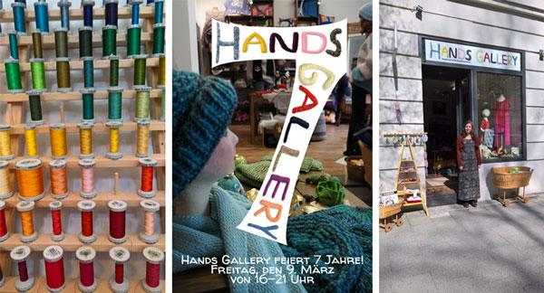 7 Jahre Hands Gallery - Feier 9. M rz 2018