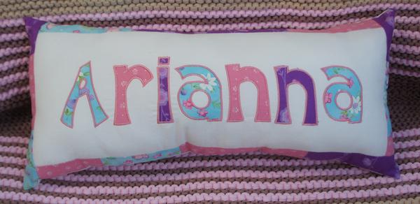 Namenskissen Arianna