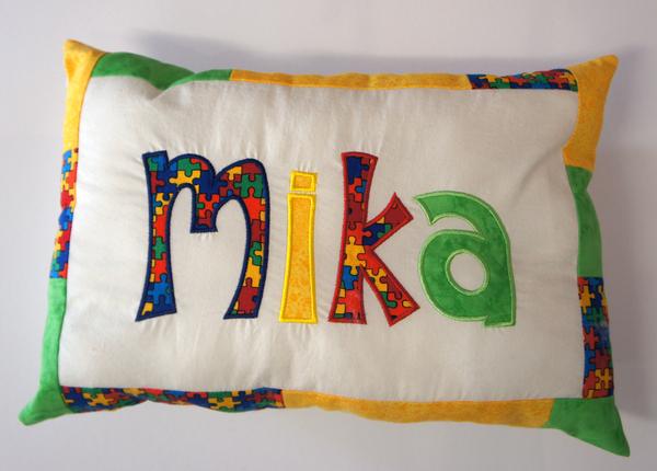 Namenskissen Mika