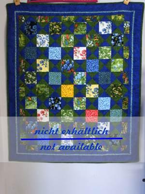 Garden Quilt in grün und blau