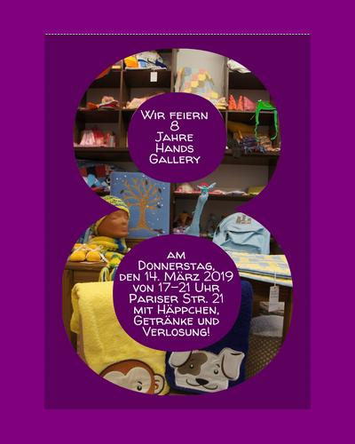 8. Geburtstag von Hands Gallery