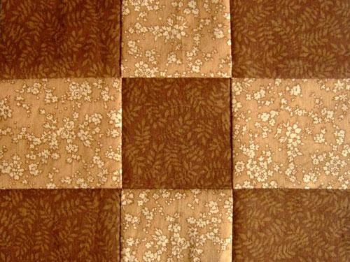 Quilten für Anfänger - 9-Patch Quilt