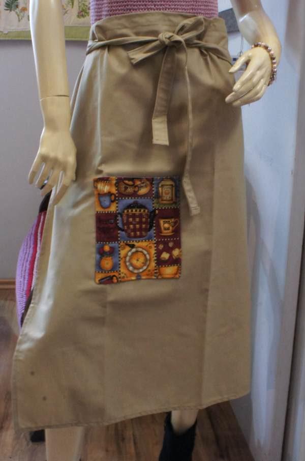Kellnerschürze mit Tasche