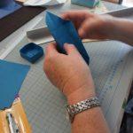 Stufenschachtel falten Kreativ-Kurs