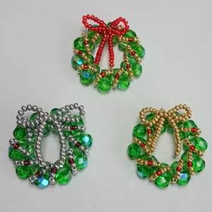 Adventskranz aus Perlen machen