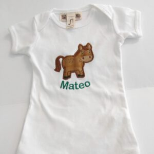 personalisiertes Baby-Body