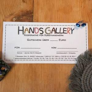 Gutschein für Hands Gallery