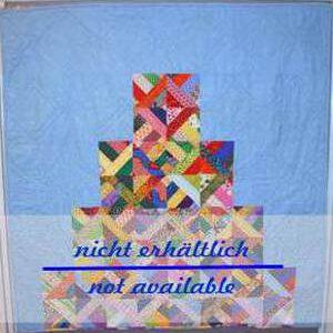 Pyramid Quilt Patchworkdecke