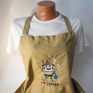 Schürze - Ich liebe Kaffee