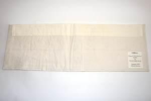 Textilbild - FadenBlumen - Rückseite
