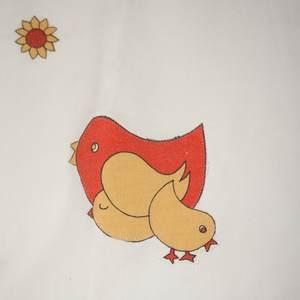Geschirrtuch Hühnerparadies - Detail
