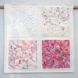 Invasion - Textiler Wandbehang