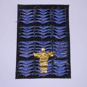 Textilbild Kathedralenfenster Berlin
