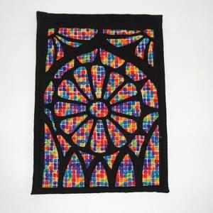Textilbild Kathedralenfenster