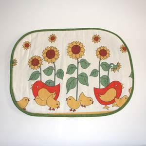 Tischset mit Hühner und Kucken