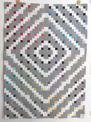 Moda Marbles Patchworkdecke