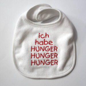 Lätzchen 'ich habe Hunger'