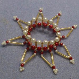 Kerzenhalterung aus Perlen machen